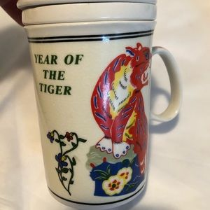 Other - Chinese zodiac year of the tiger infuser mug cup